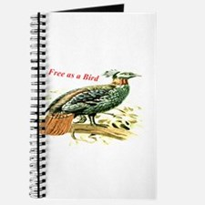 Drawing of a pheasant Journal