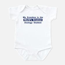 Grandma is Greatest Zoology S Infant Bodysuit