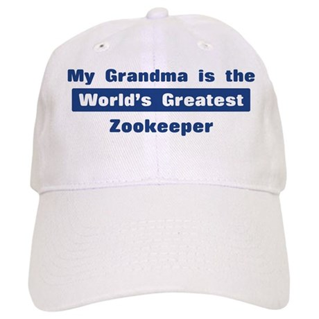 Grandma is Greatest Zookeeper Cap