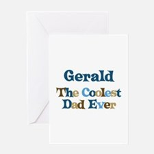 Gerald - Coolest Dad Greeting Card