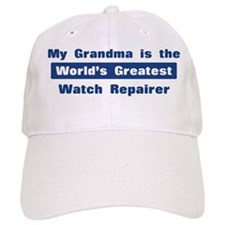 Grandma is Greatest Watch Rep Baseball Cap