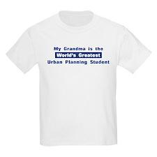Grandma is Greatest Urban Pla T-Shirt