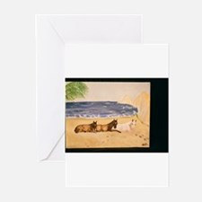 Cute Barbaro horse Greeting Cards (Pk of 10)