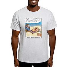 Prepare a Turkey Ash Grey T-Shirt