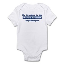 Grandma is Greatest Psycholog Infant Bodysuit