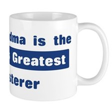 Grandma is Greatest Plasterer Mug