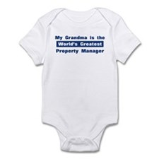 Grandma is Greatest Property Infant Bodysuit