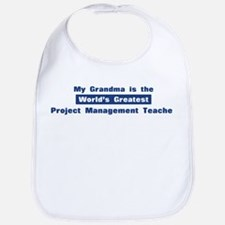 Grandma is Greatest Project M Bib
