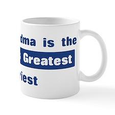 Grandma is Greatest Priest Mug
