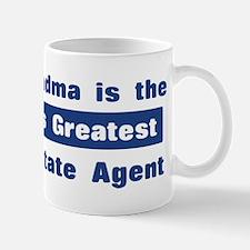Grandma is Greatest Real Esta Mug