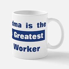 Grandma is Greatest Postal Wo Mug