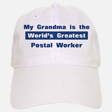Grandma is Greatest Postal Wo Baseball Baseball Cap
