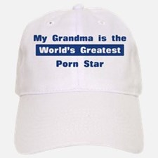 Grandma is Greatest Porn Star Baseball Baseball Cap