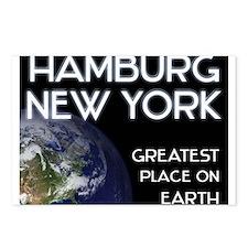 hamburg new york - greatest place on earth Postcar