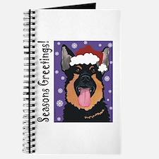 German Shepherd Santa Journal