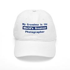 Grandma is Greatest Photograp Baseball Cap
