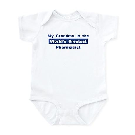 Grandma is Greatest Pharmacis Infant Bodysuit
