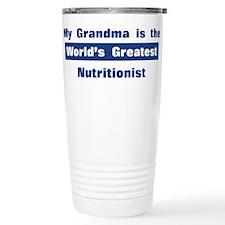 Grandma is Greatest Nutrition Travel Mug