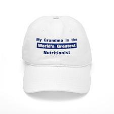 Grandma is Greatest Nutrition Baseball Cap