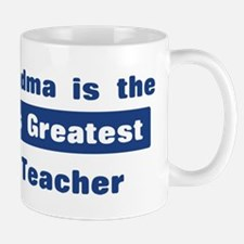 Grandma is Greatest Math Teac Mug