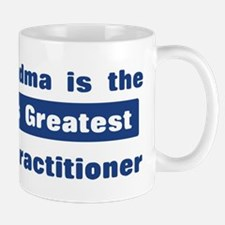 Grandma is Greatest Nurse Pra Mug
