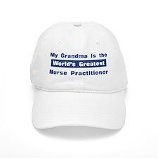 Grandma is Greatest Nurse Pra Baseball Cap