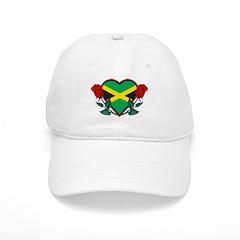 Love Jamaica Baseball Cap