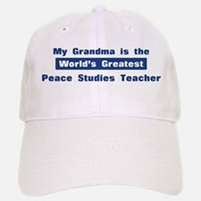 Grandma is Greatest Peace Stu Baseball Baseball Cap
