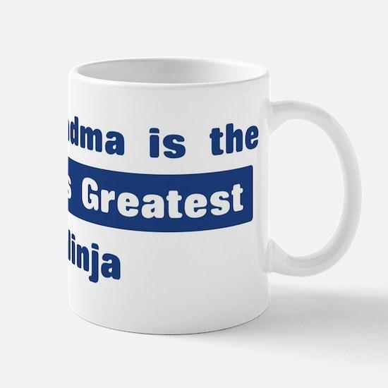 Grandma is Greatest Ninja Mug
