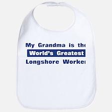 Grandma is Greatest Longshore Bib