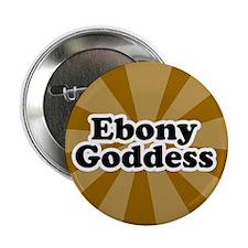 "Ebony 2.25"" Button (10 pack)"