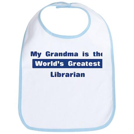Grandma is Greatest Librarian Bib