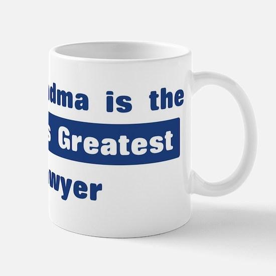Grandma is Greatest Lawyer Mug