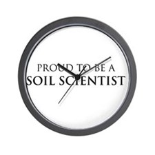 Proud Soil Scientist Wall Clock