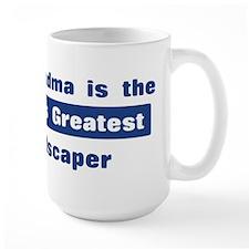 Grandma is Greatest Landscape Mug