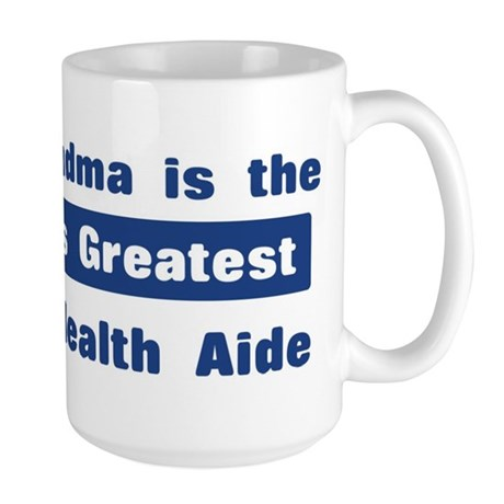 Grandma is Greatest Home Heal Large Mug