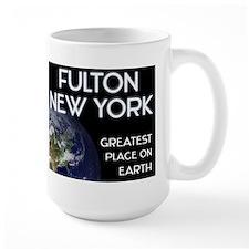 fulton new york - greatest place on earth Mug