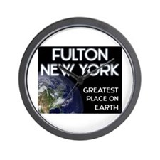 fulton new york - greatest place on earth Wall Clo