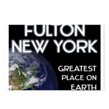 fulton new york - greatest place on earth Postcard