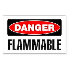 Danger: Flammable Decal