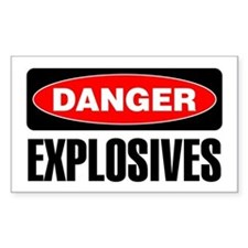 Danger: Explosives Decal