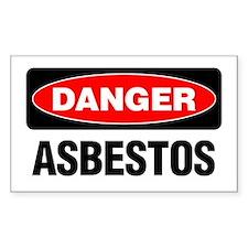Danger: Asbestos Decal
