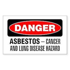 Danger: Asbestos Cancer And Lung Disease Hazard