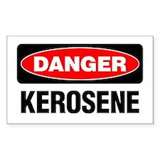 Danger: Kerosene Decal