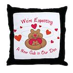 New Cub Throw Pillow