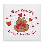 New Cub Tile Coaster
