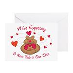 New Cub Greeting Card