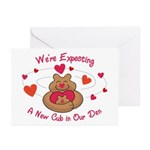 New Cub Greeting Cards (Pk of 10)