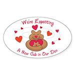 New Cub Oval Sticker