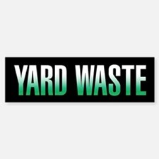 Yard Waste Sticker (Black Series)